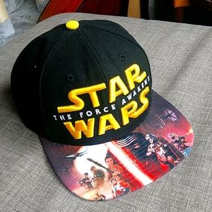 Star Wars Force Awakens Embroidered Graphic Hat